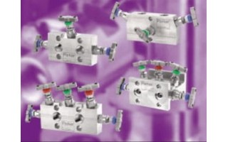 3-and 5-Valve Differential Pressure Manifolds (H Series) <br />Catalog 4190-FM <br />June 2002