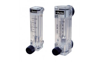 Acrylic Tube Variable Area Flow Meter Parker P270 Series