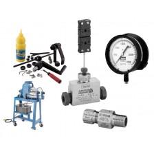 Příslušenství, nástroje a instalace AUTOCLAVE